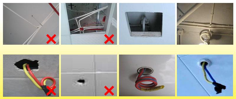 墙面电线管开槽