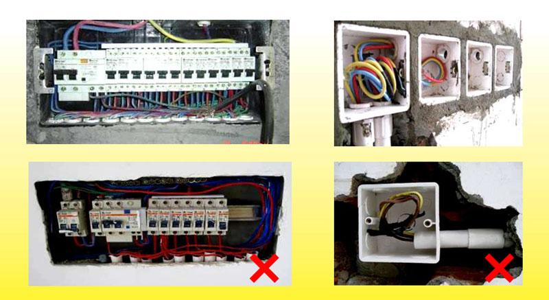 电管与开关线盒
