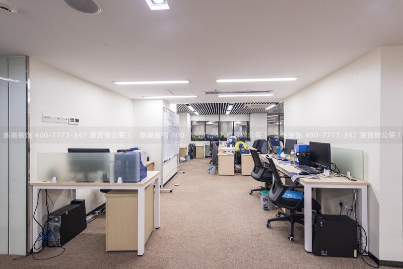辦公室裝修 | 低調的溫馨 深信金融辦公空間