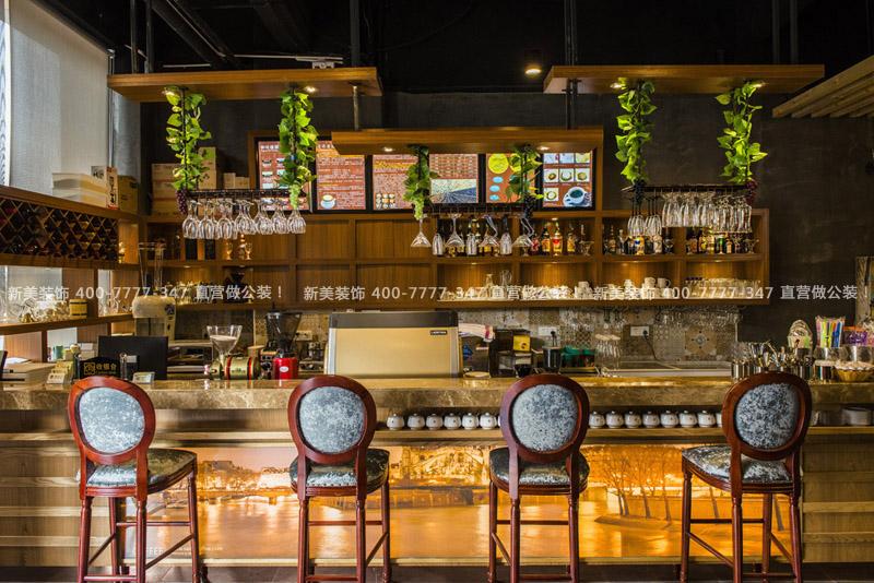 咖啡吧装修 | 法式浓情 塞纳左岸咖啡休闲空间