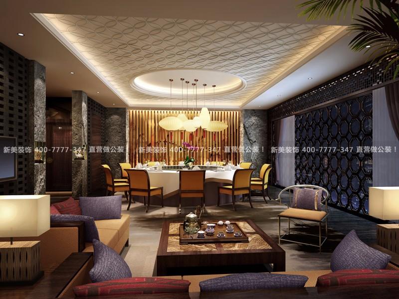餐厅设计 | 北京融金酒店风味餐厅
