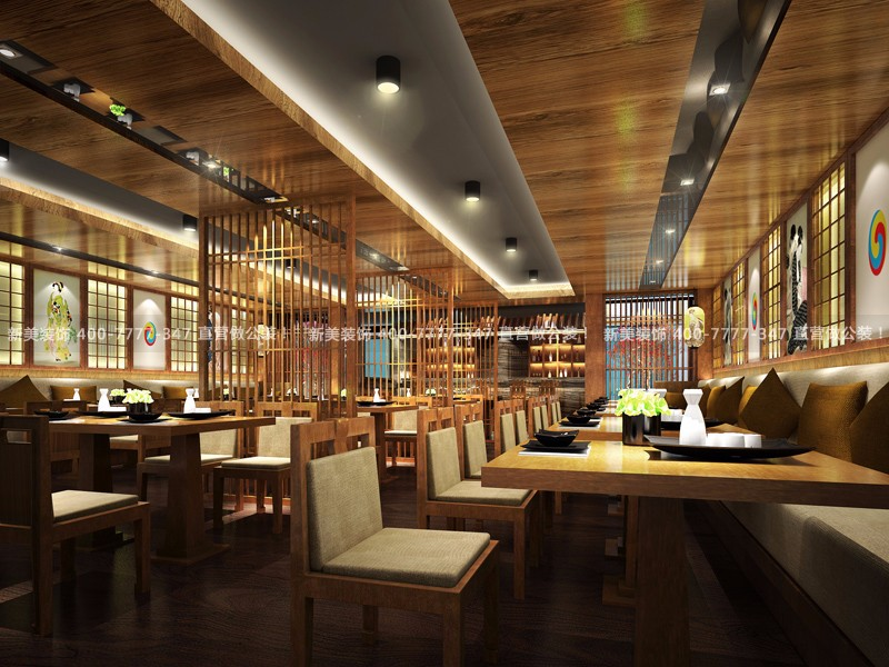 餐厅设计 | 日韩料理餐饮空间设计