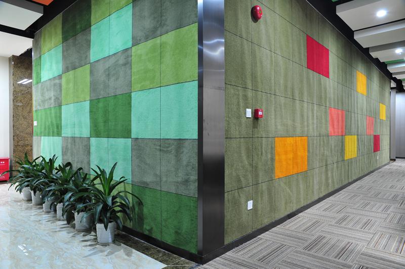 深圳办公室装修墙面色差的形成原因