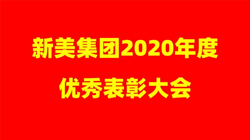 忠诚奉献 逆势增长——新美集团2020年度优秀表彰大会!